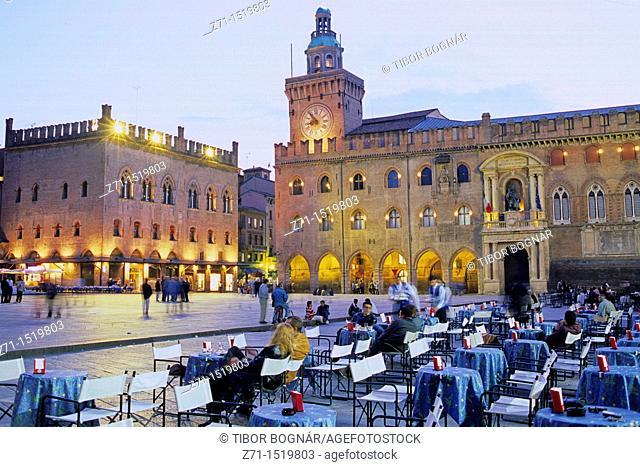 Italy Bologna, Piazza Maggiore