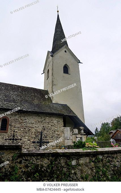 Maria Saal, church in Karnburg, Kärnten, Carinthia, Austria