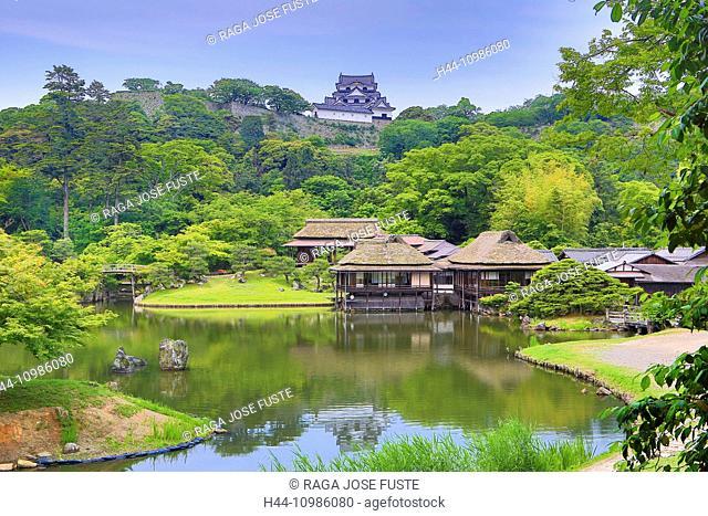 Tea Houses and Hikone Castle, Japan