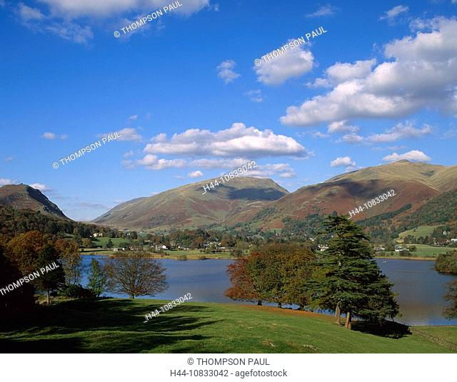 UK, England, Europe, Grasmere, Lake District, national park, Cumbria, United Kingdom, Great Britain, Europe, trees, au