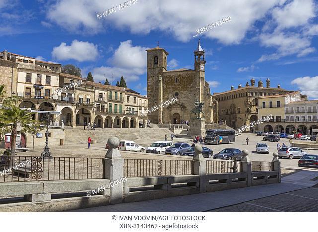 Plaza Mayor, Trujillo, Extremadura, Spain
