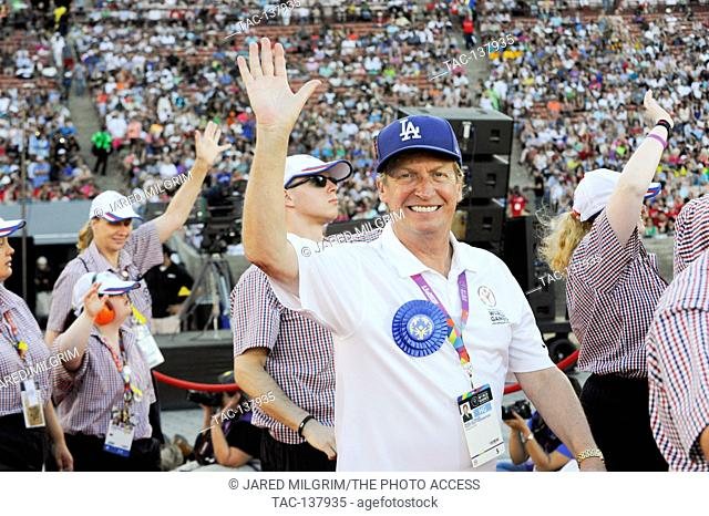 Nigel Lythgoe at the Special Olympics World Games Opening Ceremony at the Coliseum on July 25th, 2015 in Los Angeles, California