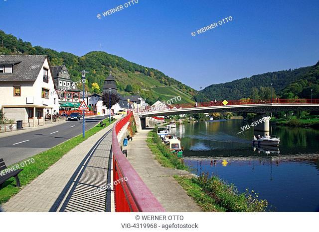 D-Obernhof, Lahn, Lahntal, Doersbach, Gelbach, Gelbachtal, Verbandsgemeinde Nassau, Naturpark Nassau, Westerwald, Rheinland-Pfalz, Flusslandschaft der Lahn