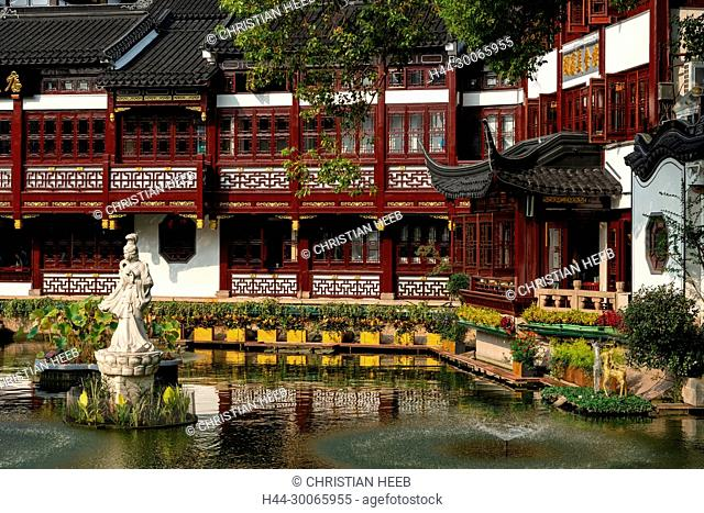 Asia, Asian, China, Peoples Republic, Shanghai, Pundong District, Old Shanghai, Yuyuan Garden