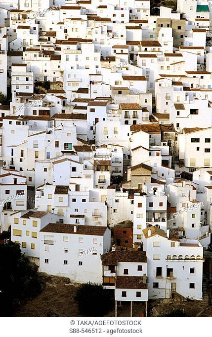 Casares. Malaga province. Andalucia. Spain