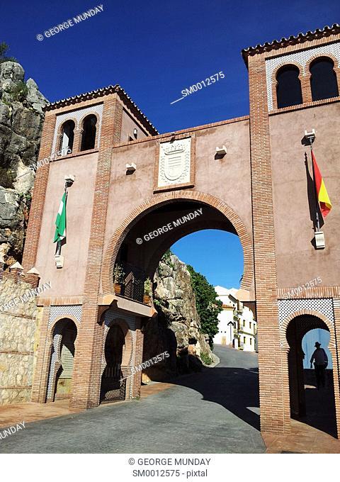 The Moorish Influenced entrance gate,