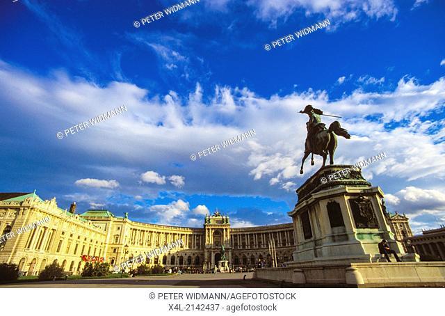 square Heldenplatz Vienna, Austria, Vienna