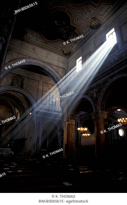 cathedral at Easter, sun-rays, Italy, Aplulia, Ostuni