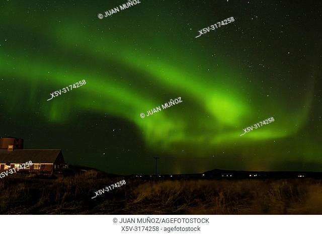 Northern Lights. Iceland