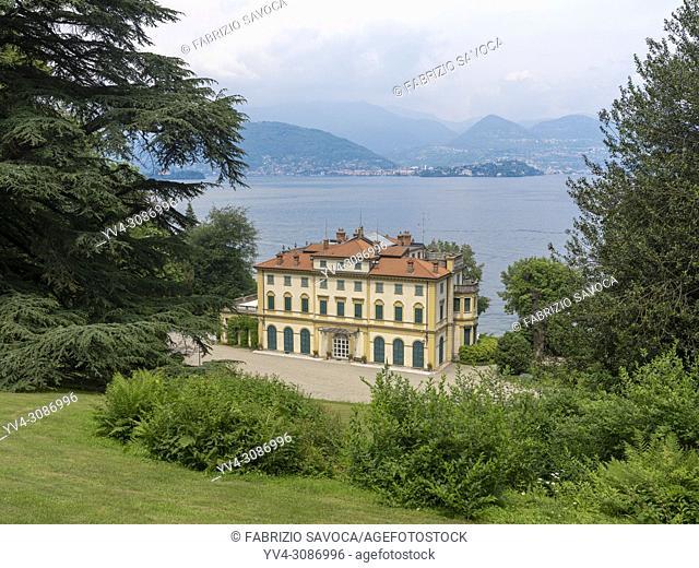 Villa Pallavicino, Stresa, Piedmont, Italy