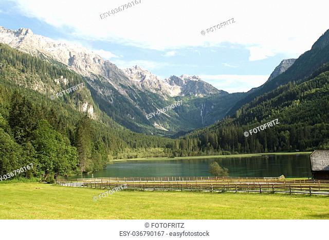 Austria, Lake named Jaegersee in Salzburg county