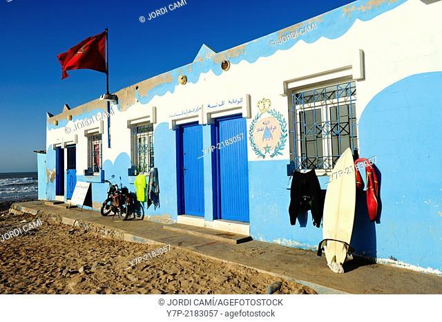Sidi Ifni beach. Morocco .North Africa
