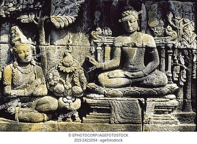 1st Gallery east upper 108. Borobudur, Indonesia