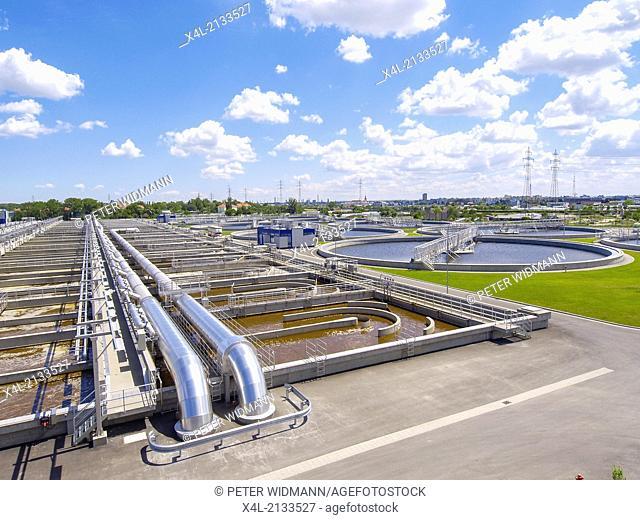 filter plant Simmering, Austria, Vienna
