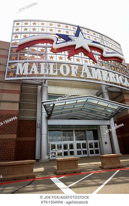 Mall of America bloomington Minnesota United States of America