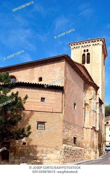 Santo Domingo de Silos church, Moorish style, Doroca, Zaragoza province, Aragon, Spain