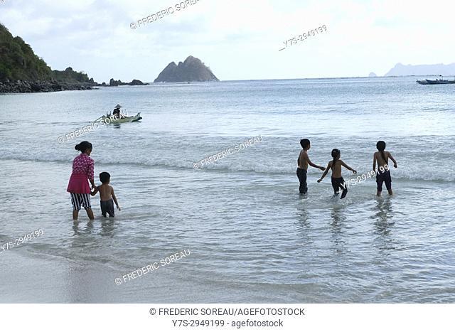 Selong Belanak beach, Lombok, Indonesia, Southeast Asia