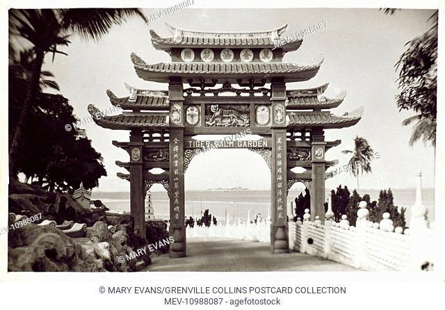 Singapore - Tiger Balm Garden (Haw Par Villa theme park), built in 1937