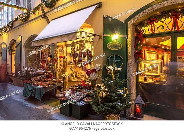 Austria. Salzburg. Christmas Market