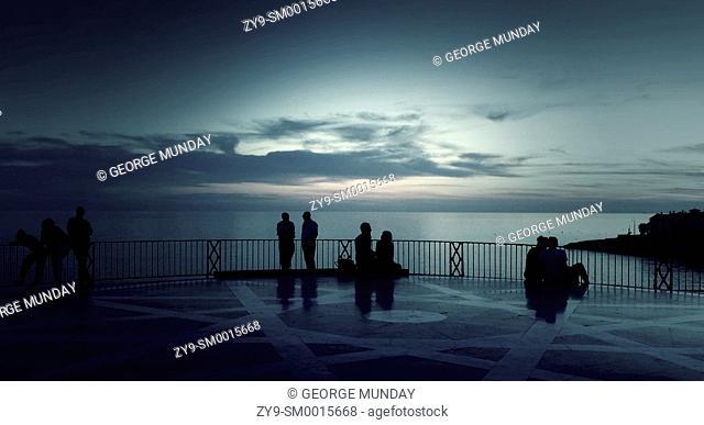Evening on the Balcon de Europa,