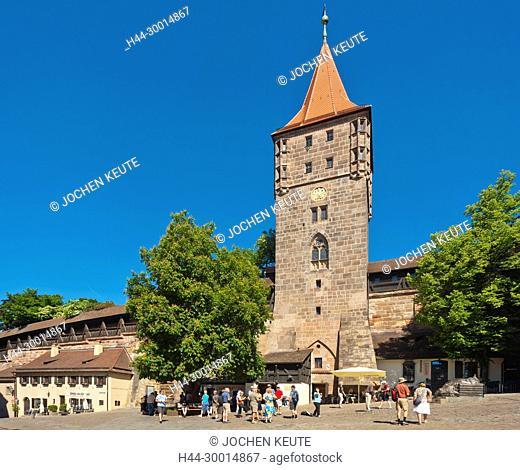 Nürnberg, Bayern, Germany, Tiergärtnertorplatz
