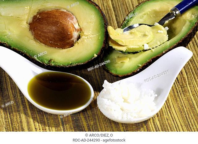 Avocado oil and Avocado butter Persea americana