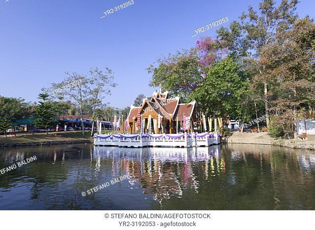 Wat nam hoo, near Pai, Thailand