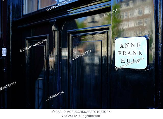 Anne Frank House, Amsterdam, The Netherlands, Europe