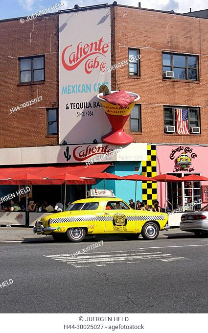 Caliente Cab, Mexican Restaurant, West Village, 7th Ave South, New York