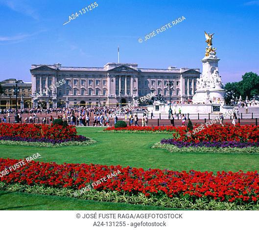 Buckingham Palace. London. England
