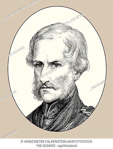 Major General Sir Henry Havelock, 1795-1857, a British general