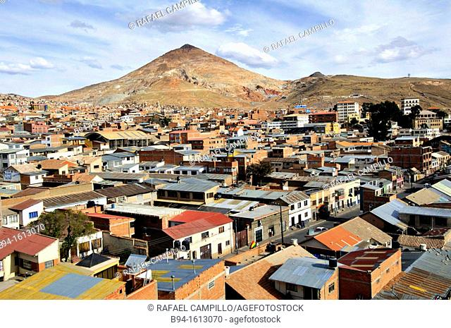 Potosí, city and the capital of the department of Potosí in Bolivia. It is one of the highest cities in the world by elevation at a nominal 4,090 metres