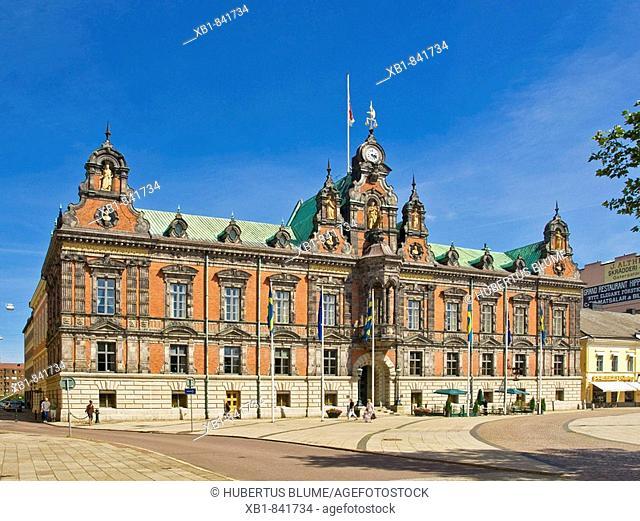 Town Hall (1546), Malmö Municipality, Skane County, Sweden