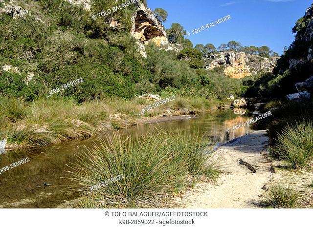 Cala Pi, Municipality of Llucmajor, Mallorca, balearic islands, spain, europe
