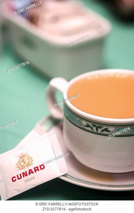 Afternoon Tea Cunard liner QE2