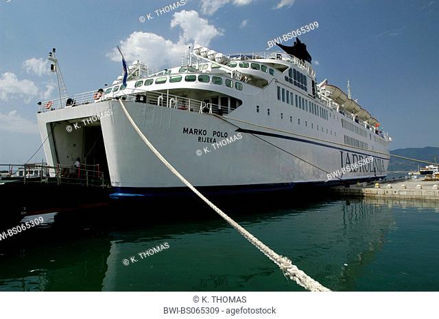 ship, Croatia, Rijeka