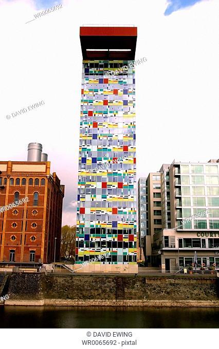 Modern Architecture in Dusseldorf, Germany