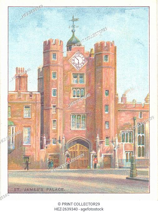 'St. James's Palace', 1929. Artist: Unknown