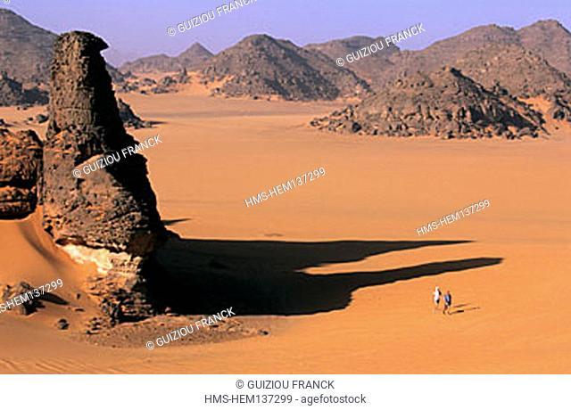 Libya, the Sahara, hiking in Akakus massif