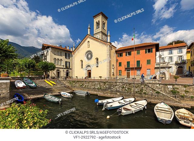 Torno, Como province, lake Como, Lombardy, Italy, Europe