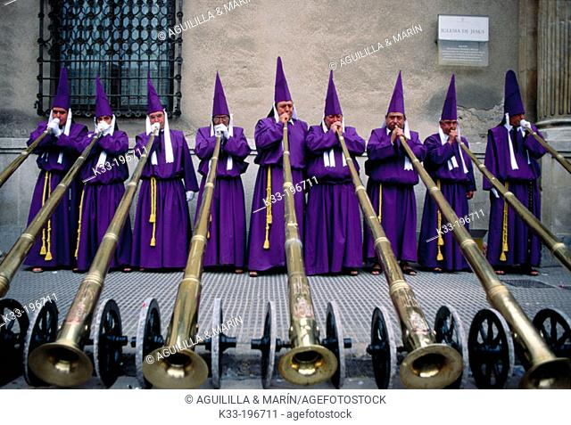 'Salzillos', Holy Week. Murcia. Spain