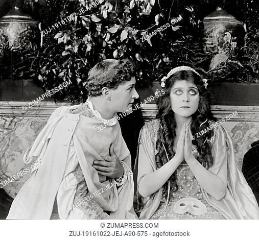 RELEASE DATE: October 22, 1916  MOVIE TITLE: Romeo And Juliet  STUDIO: Fox Film Corporation  PLOT: Shakespeare's classic with the camera focused whenever...