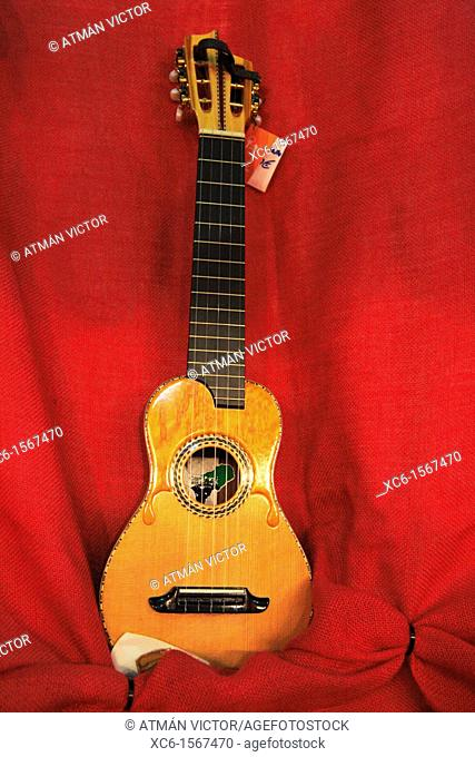 Timple: traditional stringed instrument native to the Canary Islands