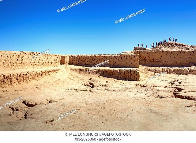 Toprak Kala Fortress, Ellik Kala, Khorezm, Uzbekistan