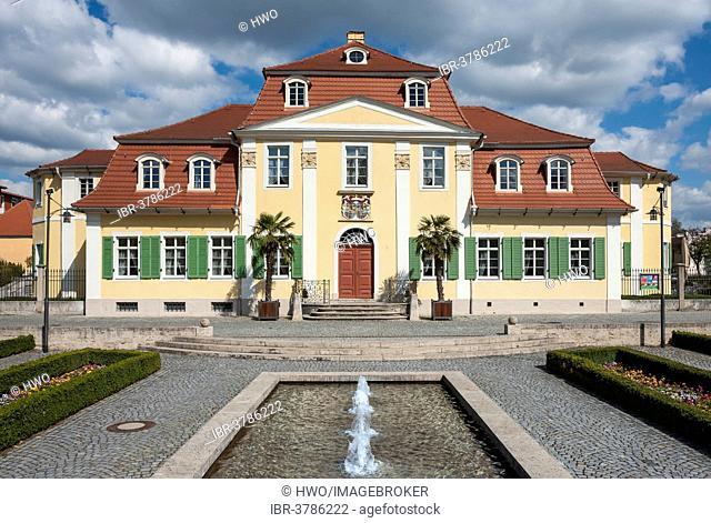 Friederikenschlösschen Castle, late Baroque summer palace, 1750, Bad Langensalza, Thuringia, Germany