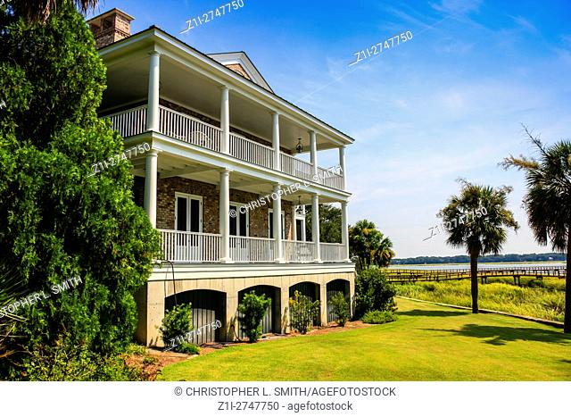 201 New Street in the historic District of Beaufort, SC