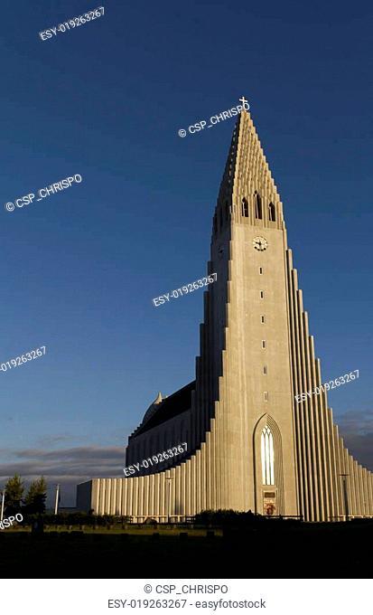 Hallgrimskirkja Church, Reykjavik,Iceland