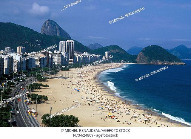 Copacabana, Rio de Janeiro. Brazil