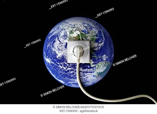 Earth Connected to a Power Cable