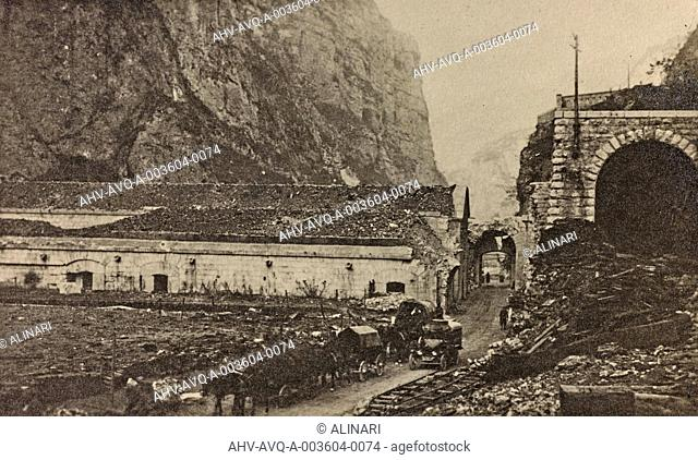 Album Visions of War 1915-1918: Forte Tombien beginning of Val Sugana, shot 1915-1918 by Aragozzini, Vincenzo